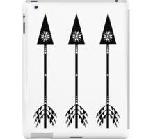 Arrows - White iPad Case/Skin
