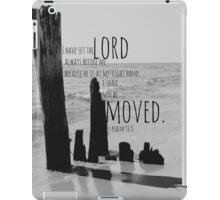 Psalm 16 Lord Before Me iPad Case/Skin