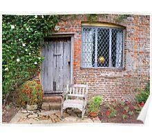 Window, Door and a Seat Poster