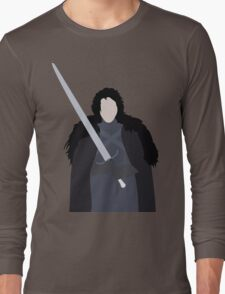 A Crow in the Snow Long Sleeve T-Shirt