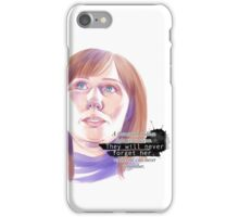 Never forget Donna Noble_white iPhone Case/Skin