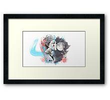 Hunter x Hunter- Hisoka Framed Print