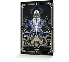 Indra Greeting Card