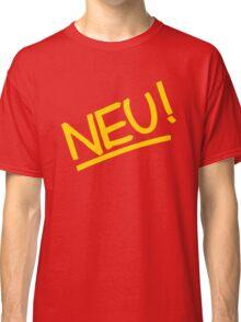 Neu! (yellow) Classic T-Shirt