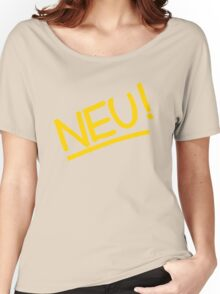 Neu! (yellow) Women's Relaxed Fit T-Shirt