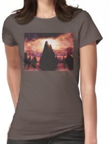 Fire Mountains Womens Fitted T-Shirt
