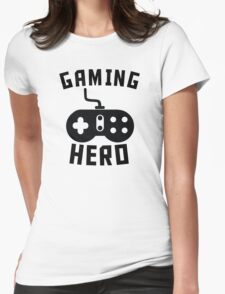 Gaming Hero Womens Fitted T-Shirt