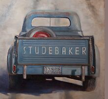 Studebaker Blue by Wendy Marquis