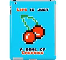 A bowl of cherries iPad Case/Skin