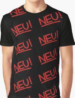 Neu! (red) Graphic T-Shirt