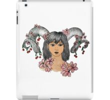 Horns and cherries iPad Case/Skin