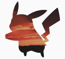 Pikachu Sunset by ShortPrint