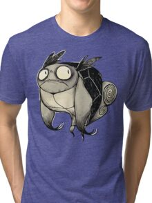 Buuuu Moonlight Monster  Tri-blend T-Shirt