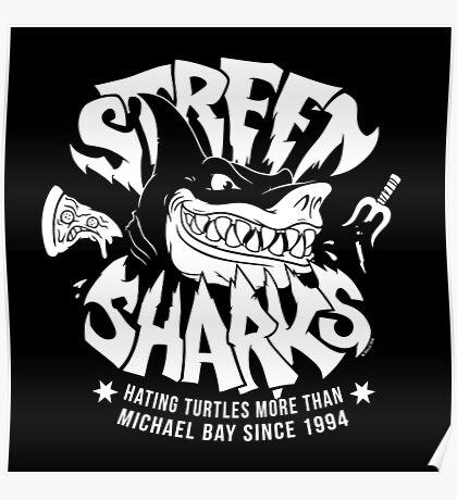 Sharks hate Turtles Poster