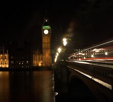 Houses of Parliament by Robert Worth