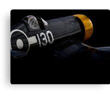 US Navy Vought F-4U Corsair Canvas Print