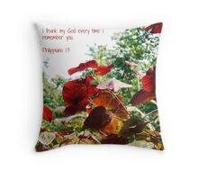 Thankfulness Throw Pillow