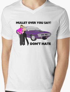 Mullet Over Think Again Mens V-Neck T-Shirt