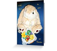 With Love to You at Easter Greeting Card