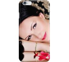 Lady Woman Girl iPhone Case/Skin