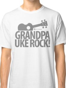 Grandpa Uke Rock Classic T-Shirt