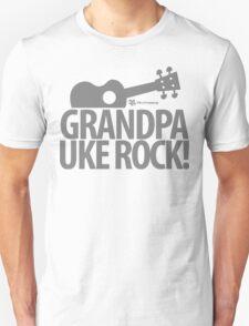 Grandpa Uke Rock Unisex T-Shirt