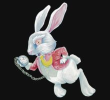 The White Rabbit (Clothes & Stickers) by Wil Zender