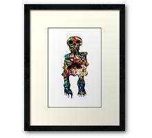 Graffiti Skeleton Framed Print