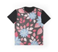 Seamless wall-paper, decorative flowers. Graphic T-Shirt