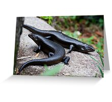 the reptile - kp Greeting Card