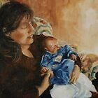 Mother and child by Beatrice Cloake Pasquier