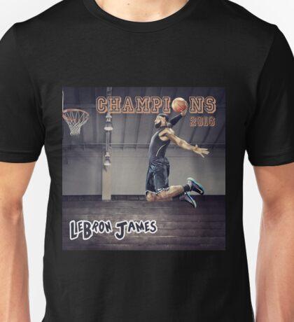 Cavaliers win Basketball Championship as LeBron James Unisex T-Shirt
