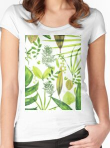 Foliage Women's Fitted Scoop T-Shirt