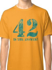 42 is the answer to everything Classic T-Shirt