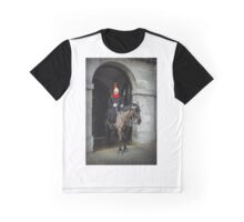 Horse guard on duty at Buckingham Palace Graphic T-Shirt