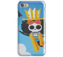 Surreal graffiti skeleton iPhone Case/Skin