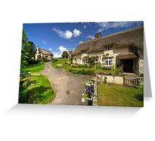 Lustleigh Thatch Greeting Card