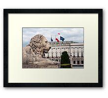 Polish Presidential Palace. Framed Print