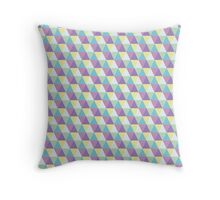 Geo Triangle 2 Throw Pillow