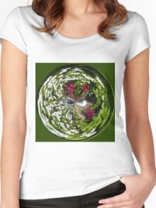 Oh So Dizzy in the globe Women's Fitted Scoop T-Shirt