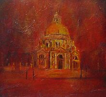Night time on Venice by Beatrice Cloake
