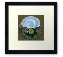 In a Roundabout way Framed Print