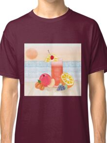 cocktail at sunset Classic T-Shirt