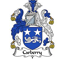 Carberry Coat of Arms / Carberry Family Crest Photographic Print