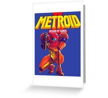 Metroid 2 Greeting Card
