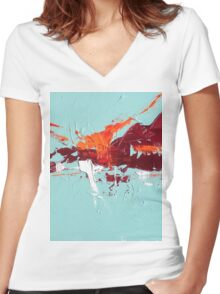 Change of direction Women's Fitted V-Neck T-Shirt