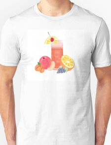 simple cocktail with fruit Unisex T-Shirt
