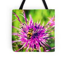 Flower Bee (I.4) Tote Bag