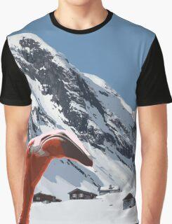Flamingo on Holiday Graphic T-Shirt