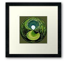 Black Hole in the Moor Framed Print